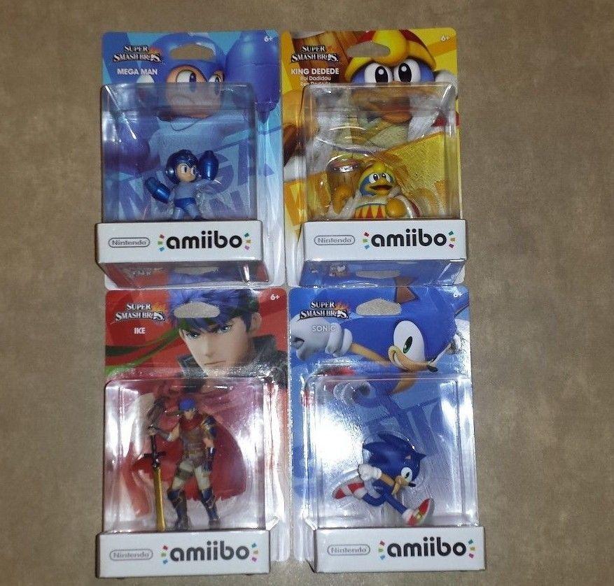 King Dedede Amiibo Ike Amiibo Sonic Amiibo Mega Man Amiibo
