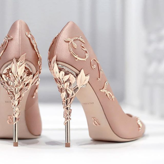 The 'Eden' Pump By Ralph & Russo. Now Available At Our