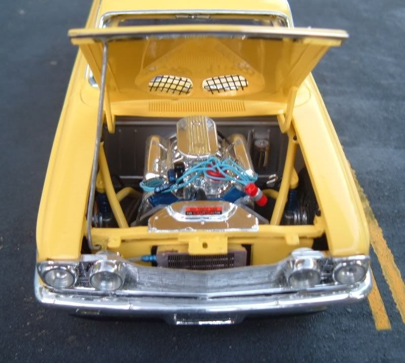 Professional Model Car Building