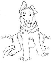 Image Result For German Shepherd Coloring Pages Free German Shepherd Colors Drawings Coloring Pages