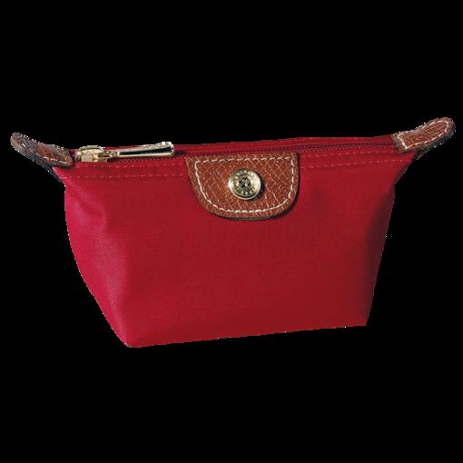 Porte monnaie Longchamps pliage rouge 24 euros