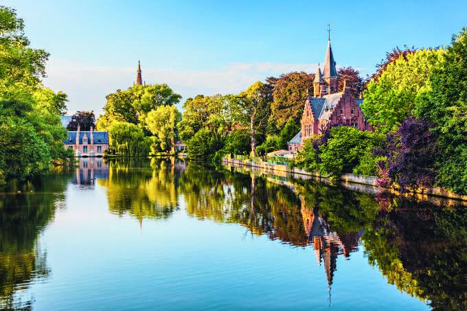 Belgica 24 Horas Em Bruges Com Arquitetura Historia E Rendas