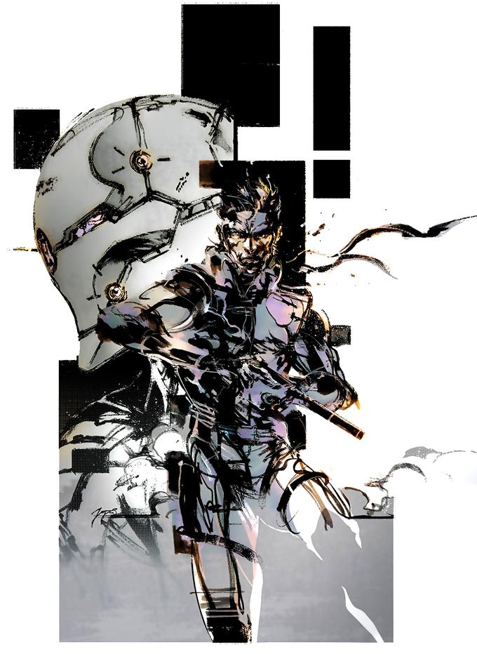 Art Of Metal Gear Solid By Yoji Shinkawa Metal Gear Metal Gear Rising Metal Gear Series