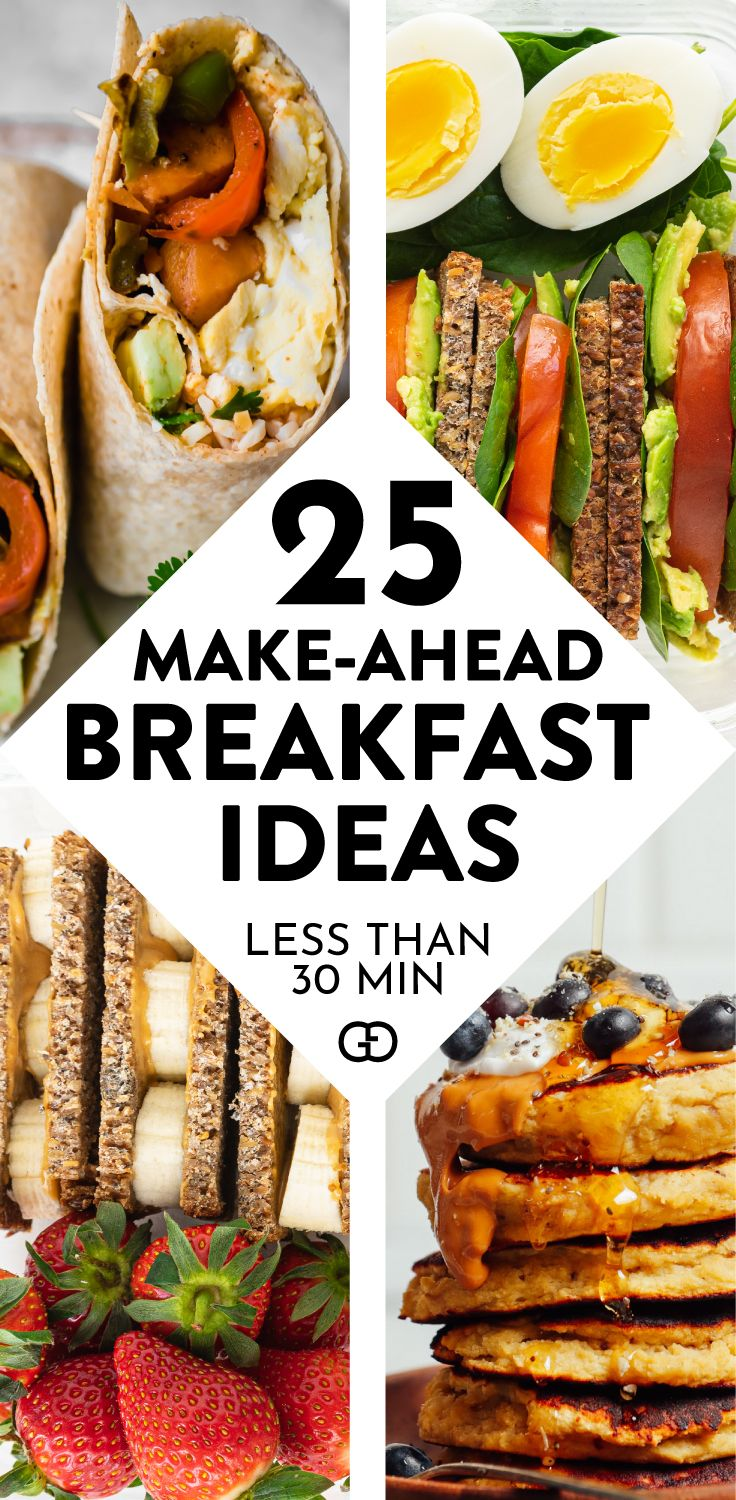 25 Healthy Breakfast Meal Prep Ideas For Busy Mornings -   19 meal prep recipes healthy breakfast ideas
