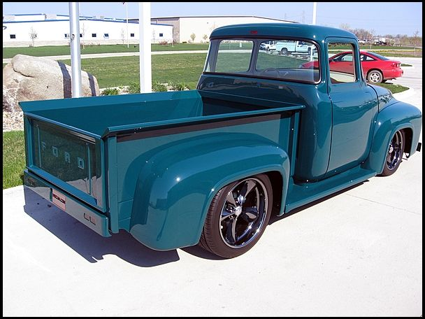 1956 Ford F100 Pickup 454 Ci Automatic Mecum Auctions Ford Trucks 1956 Ford Truck Old Ford Trucks