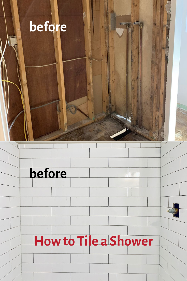 How To Install Shower Tile Shower Tile Diy Tile Shower Tile Installation