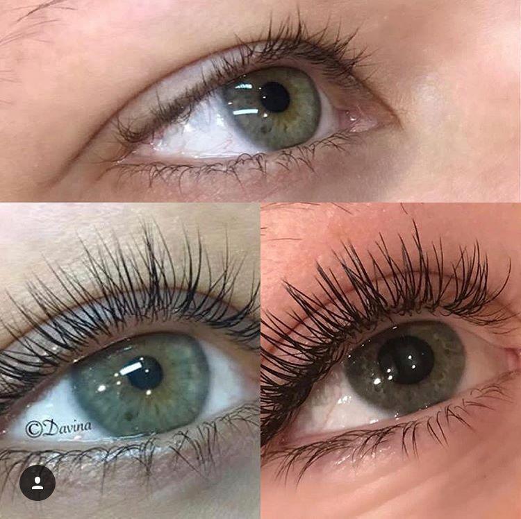Natural lashes vs. Lash lift vs. Lash extensions Natural