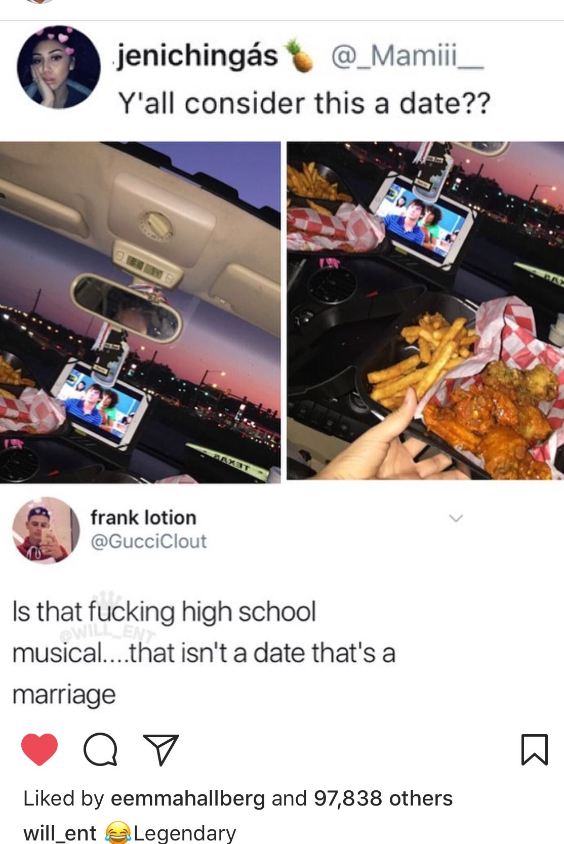 Chicken Fries And High School Musical