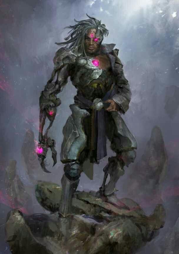 Cyborgvictor Stone Dc Justiceleague Medieval Fantasy Dc