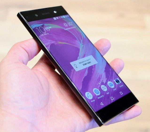 Hands On With The Sony Xperia Xa1 And Xa1 Ultra Sony Xperia Sony Sony Design