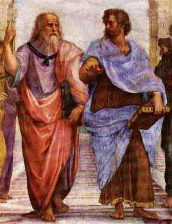 Aristotle (384-322 B.C.E.) Aristotle was born in Stagira in north Greece, the son of Nichomachus, the court physician to the Macedonian royal family. He was trained first in medicine, and then in 367 he was sent to Athens to study philosophy with Plato. He stayed at Plato's Academy until about 347. Aristotle is said to have written 150 philosophical treatises.