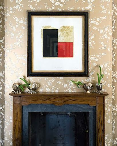 a fireplace picture