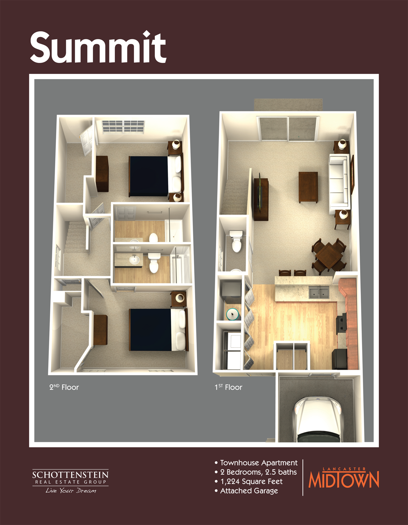 Lancaster Ohio apartment floor plans