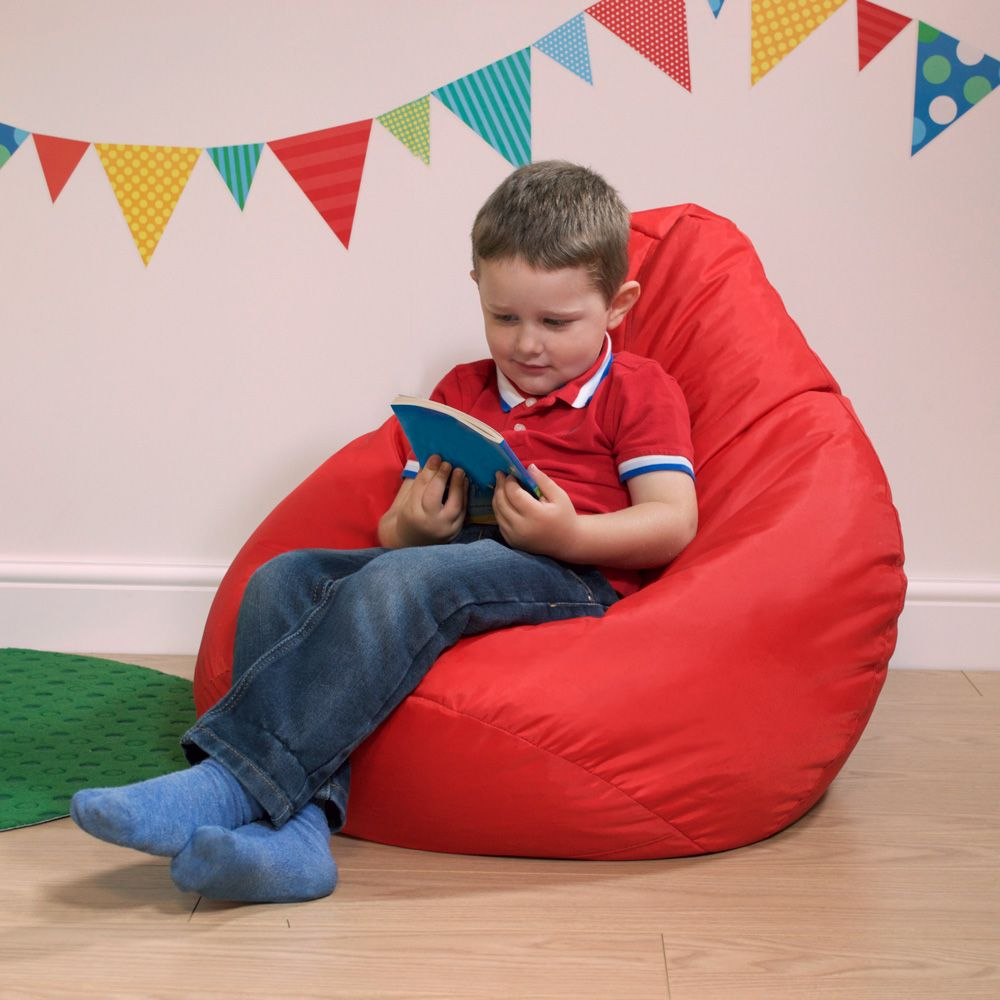 Large Adult Childrens Bean Bag Cup Chair Kids Seat Teen Indoor Outdoor Beanbag