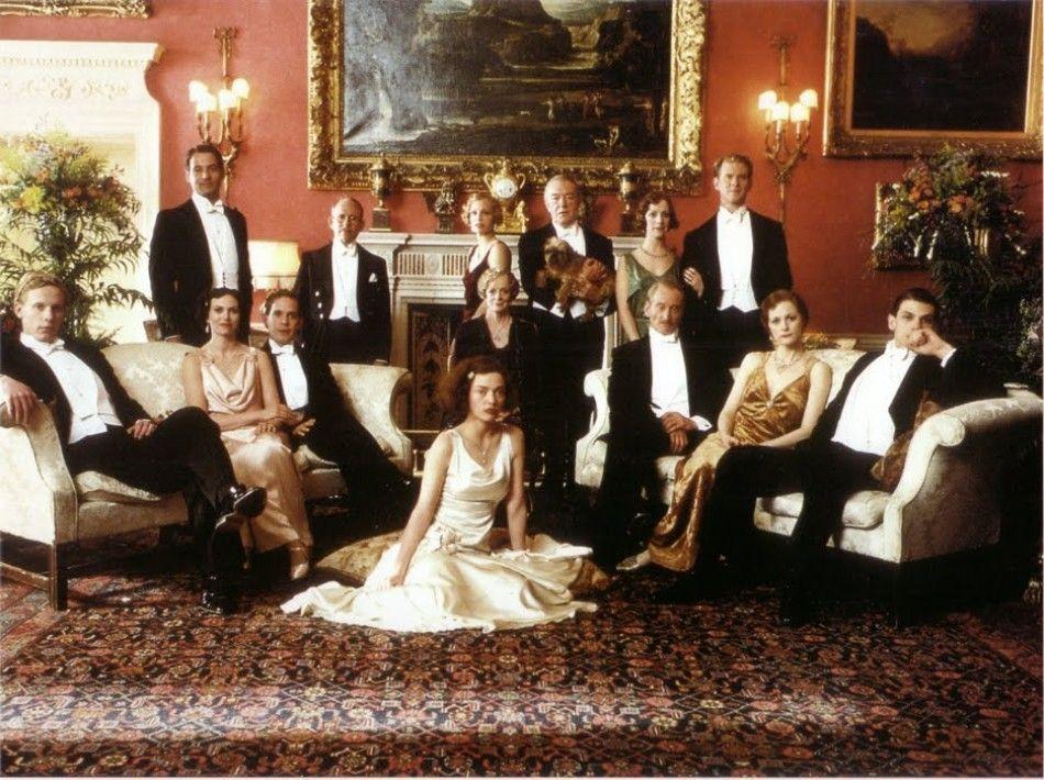 The Cast Of Gosford Park Robert Bernard Altman Movies Period