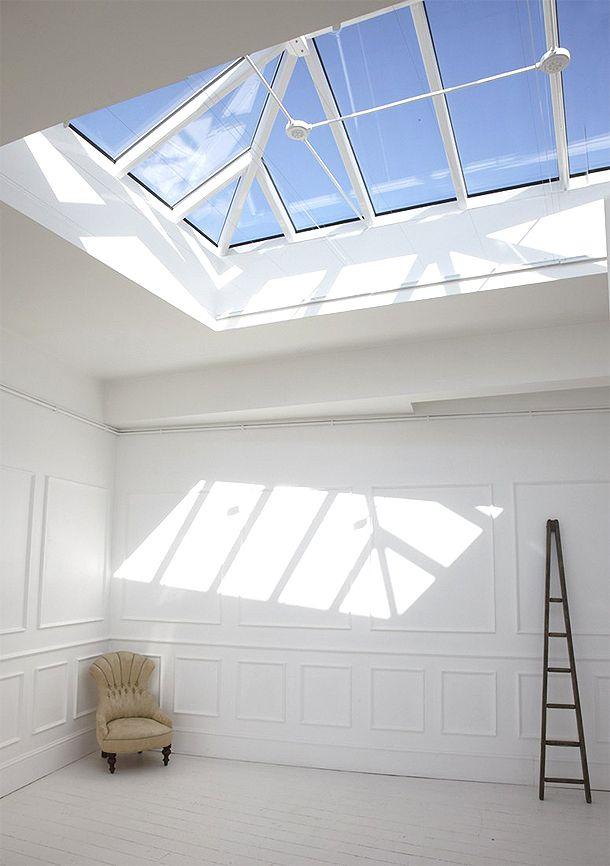 studio in london, all white | London apartment, Loft ...