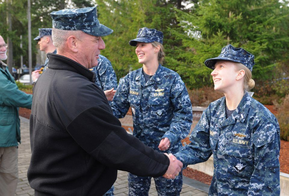 U.S. Navy Sailors assigned to Los Angeles-class fast