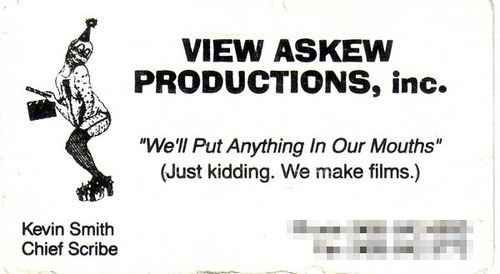 Kevin Smith S Business Card Best Funny Pictures Funny Posts Business