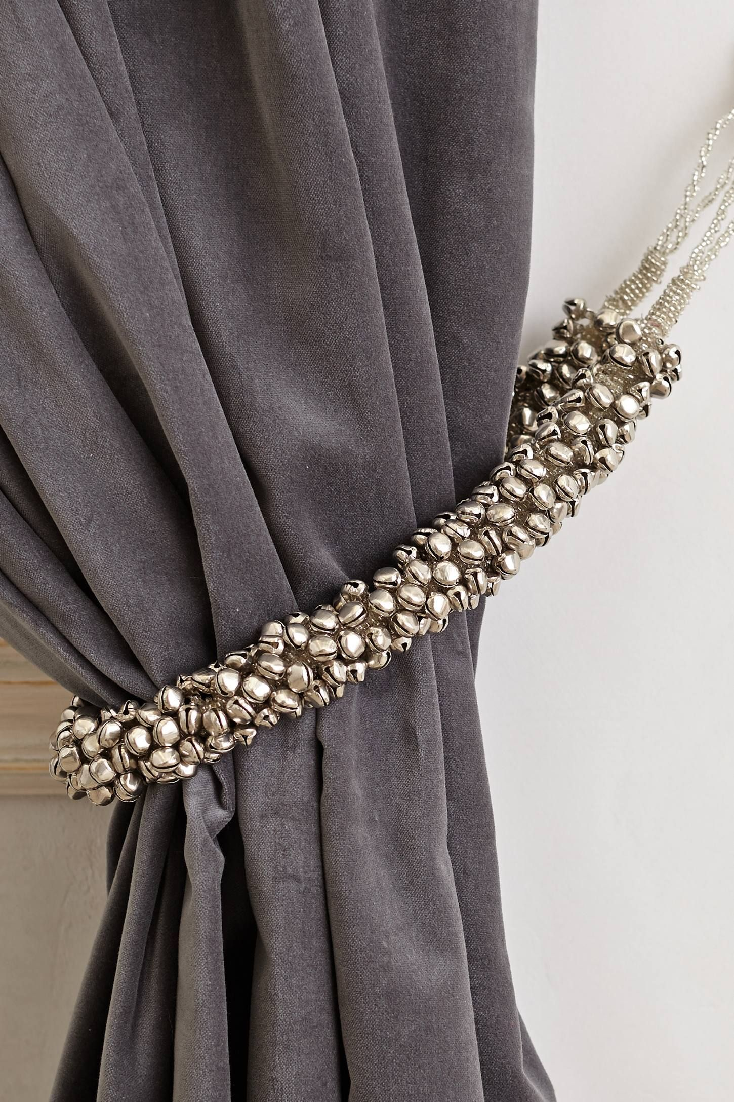 Shimmer Bells Tieback - anthropologie.com