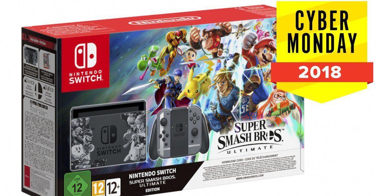 Nintendo Switch Die 8 Besten Angebote Zum Cyber Monday Aktualisiert Super Smash Bros Smash Bros Nintendo Switch Splatoon