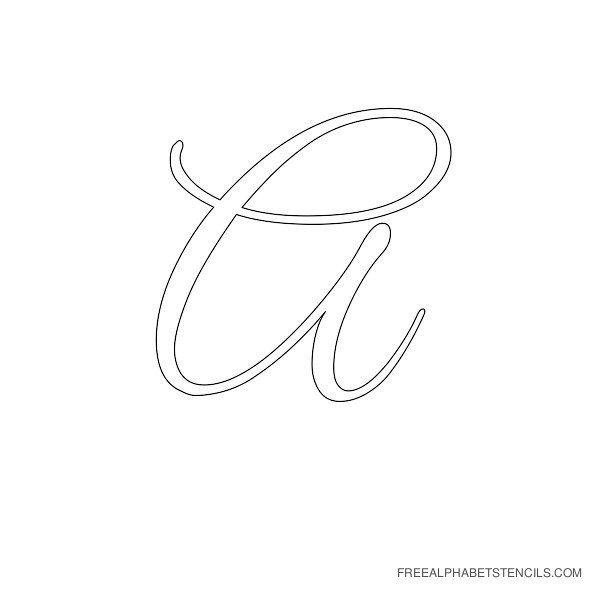 17 Best images about Cursive alphabets on Pinterest   Happy spring ...