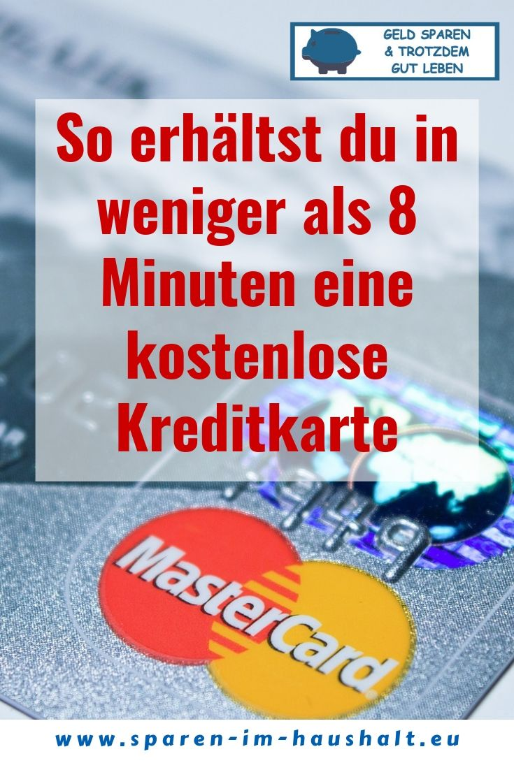 Kreditkarte Online Sofort Nutzbar