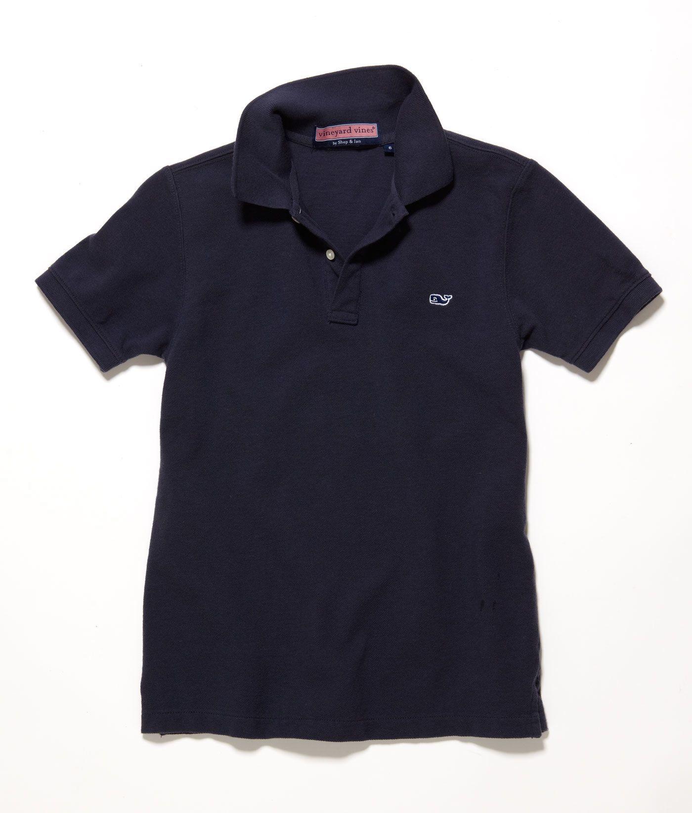 Shop Boys Polo Shirts: Classic Pique Polo for Boys | Vineyard Vines | Polo  boys, Boys polo shirt, Pique polo shirt