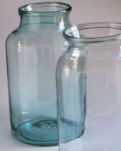 Litre Glass Vase Cork