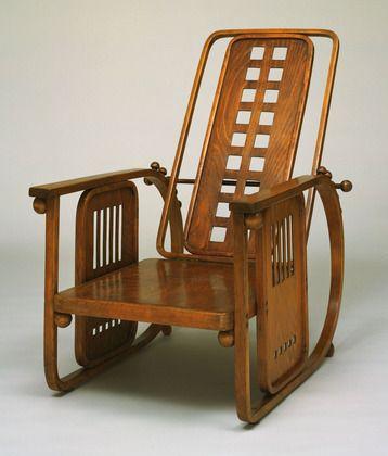 Sitzmaschine model 670, Josef Hoffmann, 1905. @designerwallace