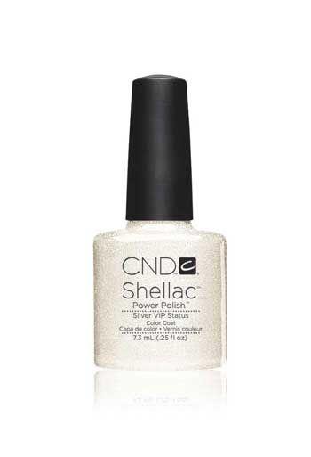 CND Shellac Silver VIP Status