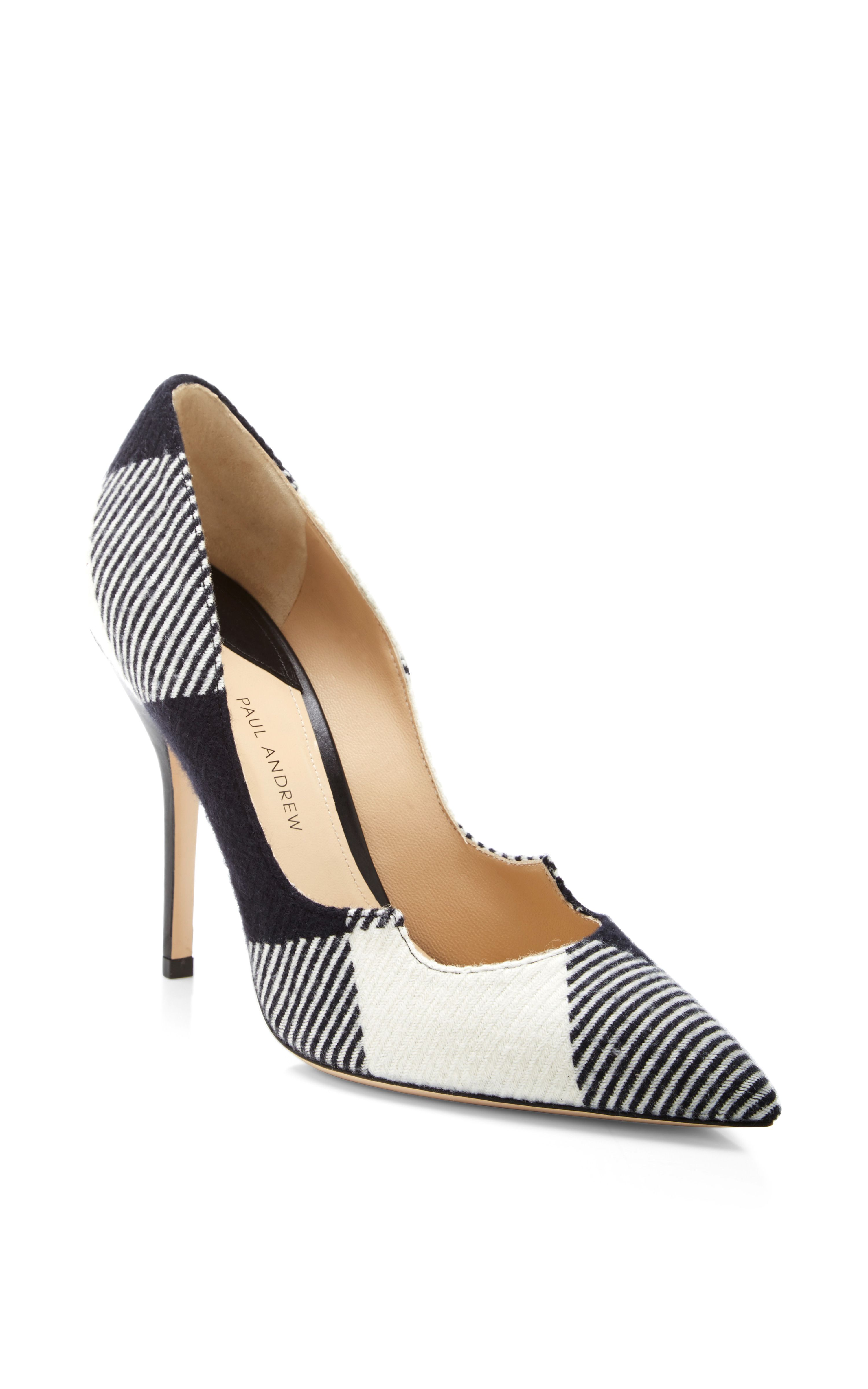 metallic heel pumps - Black PAUL ANDREW Fashionable Cheap Price np1lyyCR5