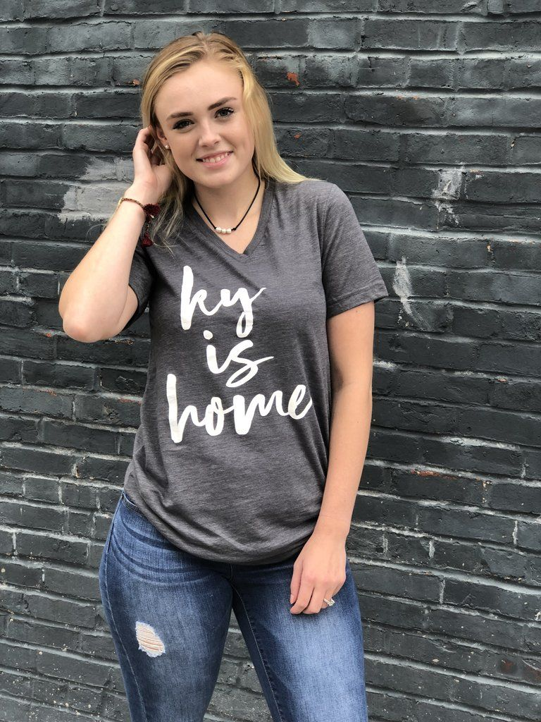 Ky is HomeVneck Kentucky shirts, T shirts for women
