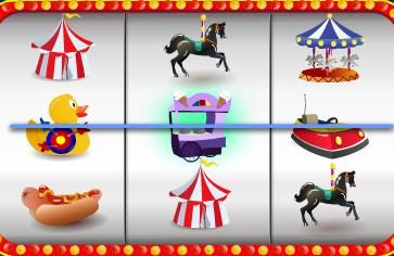 Visit the fair at Prime Slots and you could win a 100 000 € PRIME SLOTS JACKPOT!  Winning symbols include dodgems, merry- go- round, hot dogs and all the fairground games.  Look out for the Circus Marquee; it's WILD and can double your winnings!  http://www.primeslots.com/?AR=526087