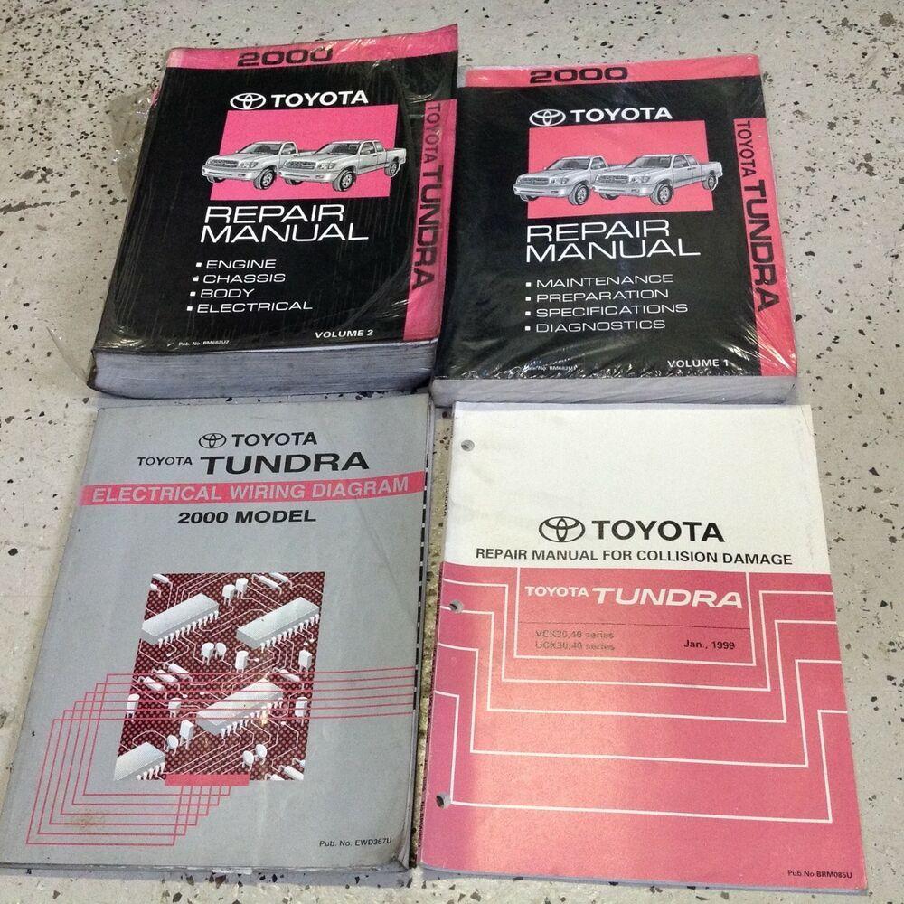 2000 Toyota Tundra Truck Service Shop Repair Workshop Manual Set W Ewd Collis Tundra Truck Toyota Tundra 2000 Toyota Tundra