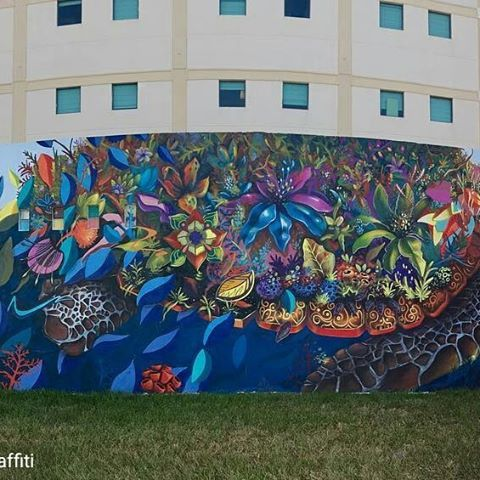 Credit to @murals_streetart_graffiti : 🐢#florida #downtownhollywoodmuralproject #flmurals #flstreetart #hollywoodflorida #dhmp  #hollywoodtapfl #hollywoodfl #hollywoodflorida #hollywoodbeach #downtownhollywood #miami #fortlauderdale #ftlauderdale #aventura #dania #daniabeach #hallandale #hallandalebeach #davie #pembrokepines #miramar @hollywoodtapfl (at Downtown Hollywood, FL)