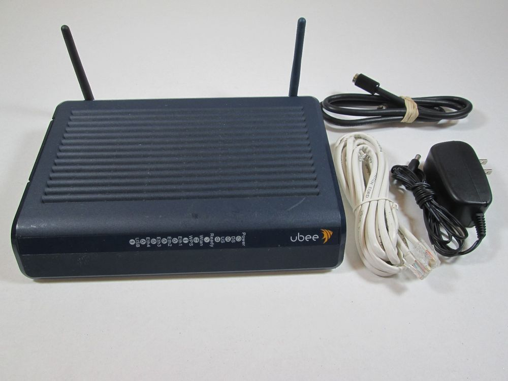 Ubee Wireless Cable Modem Dual-Stream Gateway Router Model DDW3610 P/N DDW3611 #Ubee