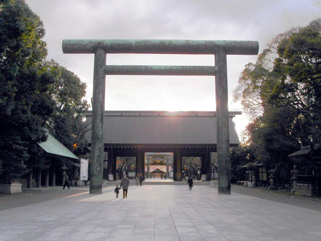 九段の風景壁紙写真4 靖国神社 Yasukuni Shrine 靖国神社 風景 壁紙