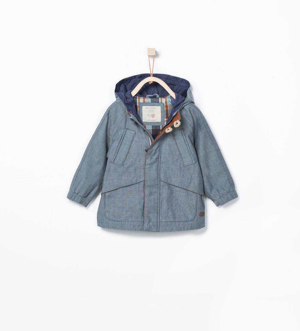 55dfc19707bd Bild 1 von Parka mit zahlreichen Taschen und Kapuze von Zara