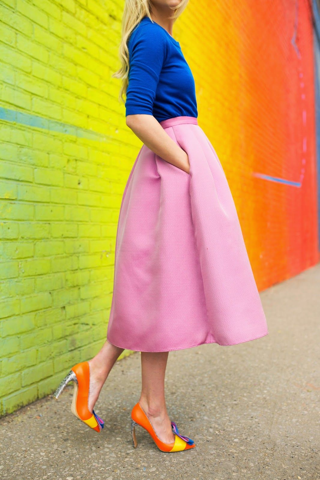 The color blocking trend is here to stay! What favorite brights will ...