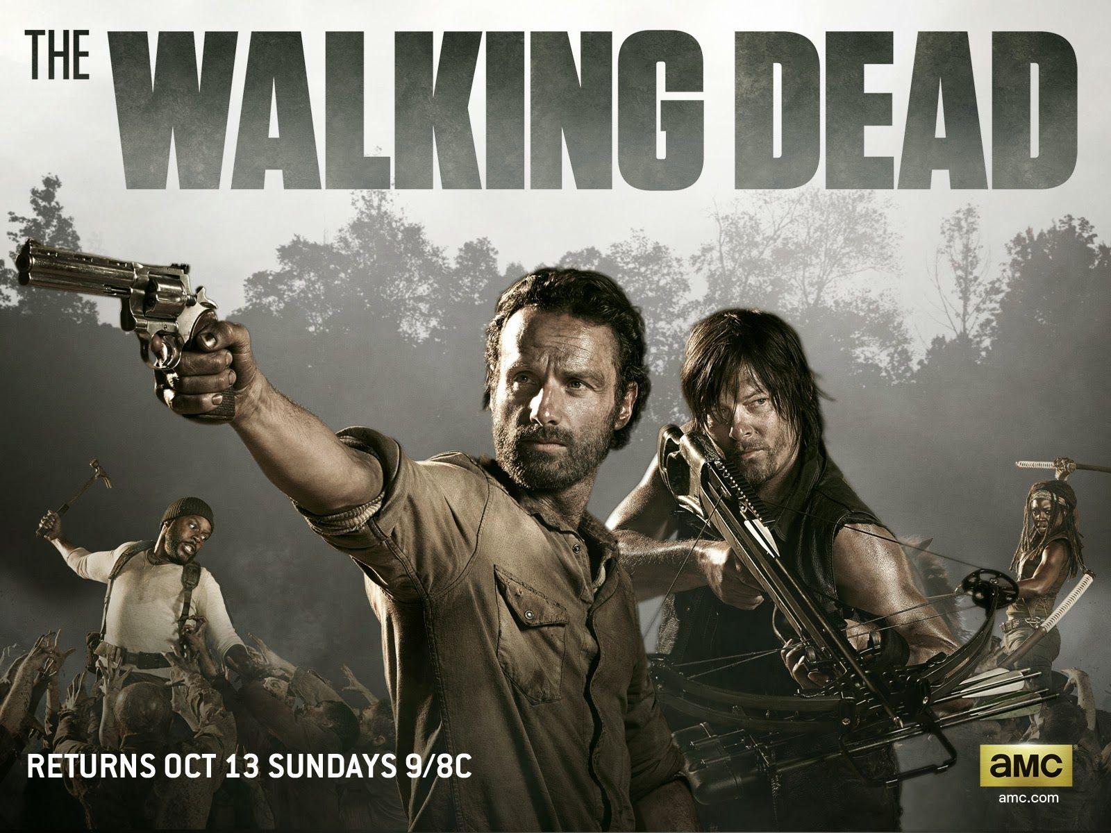 The Walking Dead - Seriado pós apocalítico zumbi