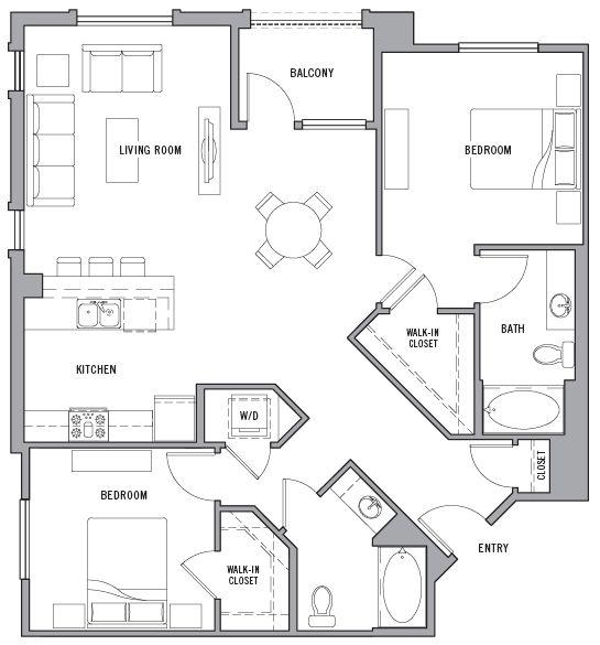 Alder Apartments Plan Doma Planirovki Plan Kroshechnogo Doma
