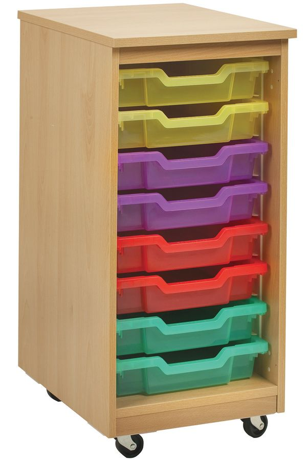 8 Tray Mobile Storage Unit For Schools This Is Ideal Clrooms In And Nurseries It Holds Shallow Trays Which Come
