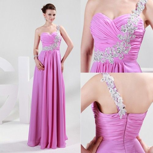 Gorgeous Formal Evening Party Gowns Weddding Bridesmaid Prom Cocktail Sexy Dress