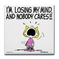 Losing My Mind śmieszne Pinterest Snoopy Charlie Brown And