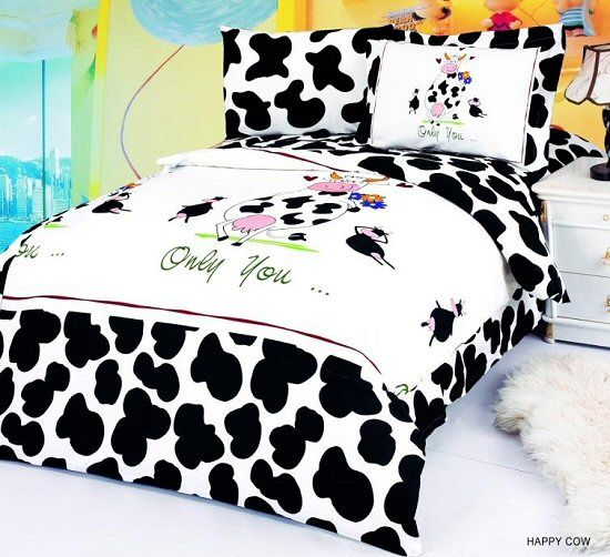 Cow Bedding (kids Room Treasures) A Lot Of Neat Bedding.