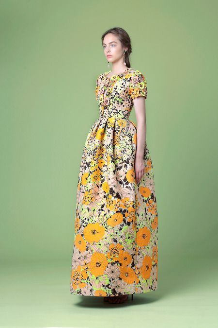 Andrew Gn | Resort 2015 Collection | Style.com - alternative wedding dress maybe?