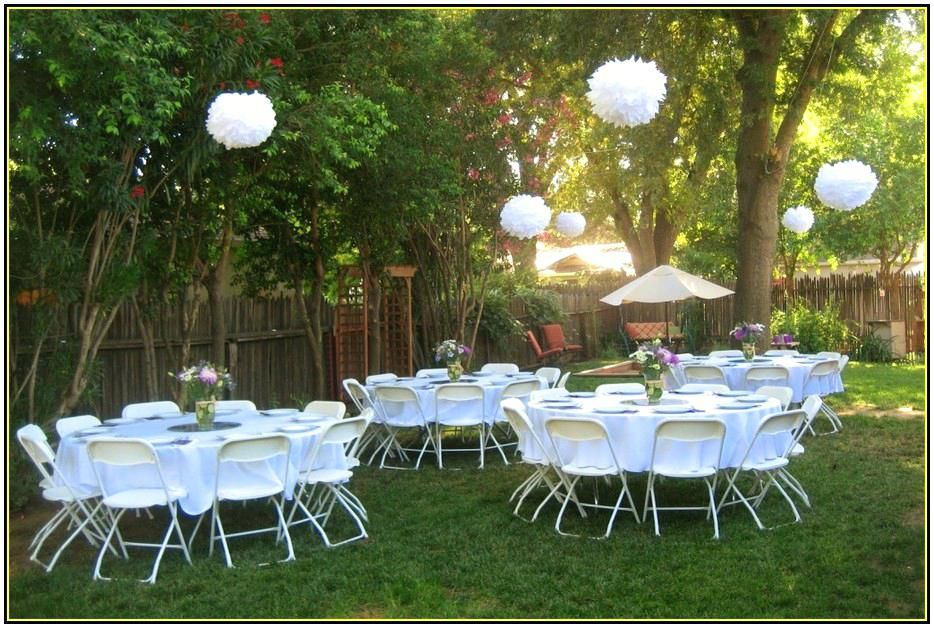 small backyard wedding decorations marvelous charming best ...