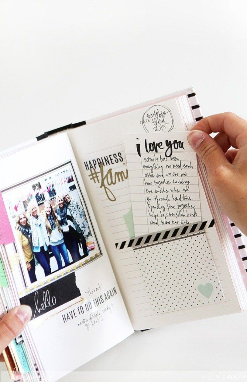 Polaroid Scrapbook Ideas Memories Tell Your Stories With Photo Journals Memory Keeping Pinterest Boyfriend Scrapbook Photo Album Diy Friend Scrapbook