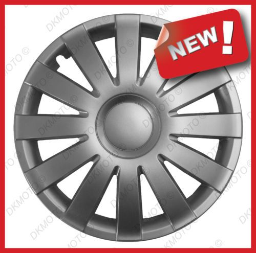 15 039 039 Wheel Trims For Ford Transit Custom Tourneo Full Set 4x15 034 Silver Volkswagen Touran Transit Custom Volkswagen Polo
