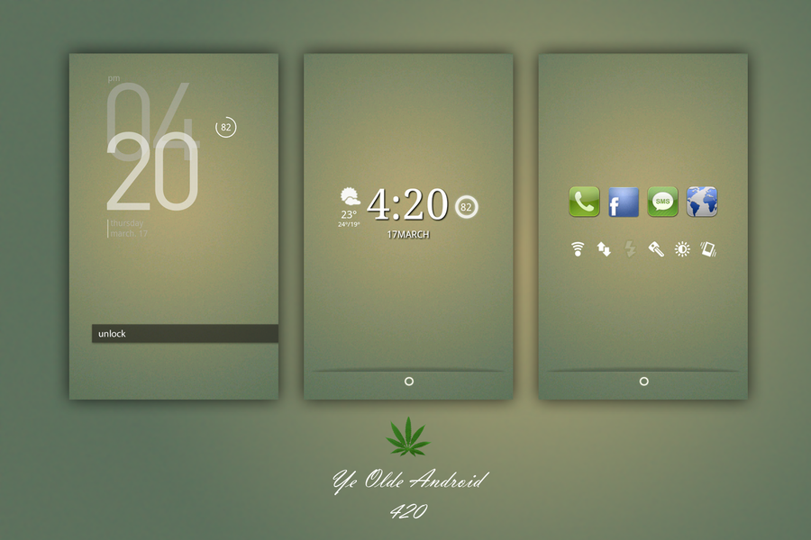 My next theme - Ye Olde Android - 420 by ~dxDreamX on deviantART ...